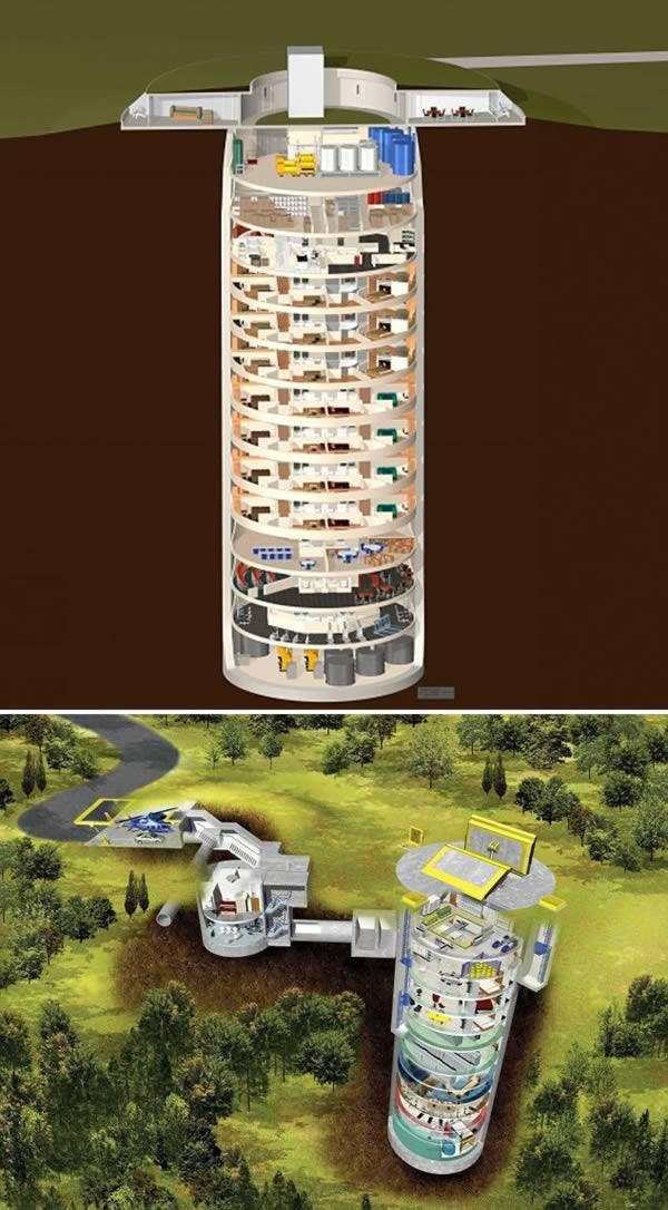 10 Most Amazing Apocalypse Bunkers Oddee