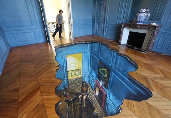 12 Awesome 3D Interior Floor Designs Oddee