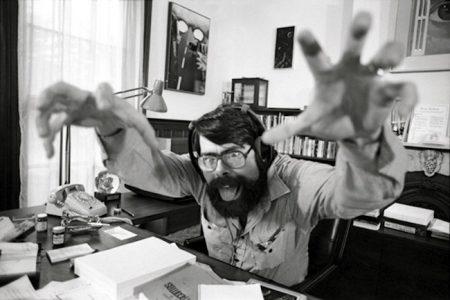 Stephen King Writing At Desk