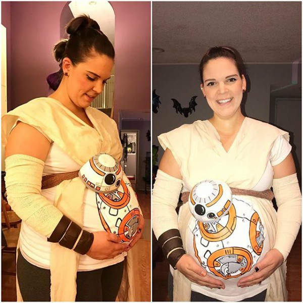 13 Cool and Clever Pregnancy Halloween Costumes - pregnancy ...