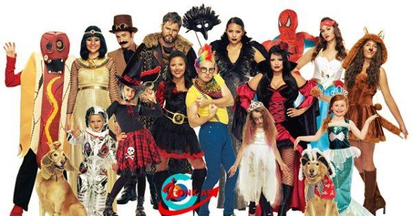 7evolution of wearing costumes for halloween - Strange Halloween Facts
