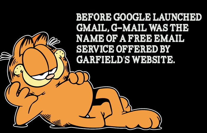 Garfield Odd Fact