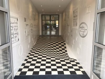Optical Illusion Floor