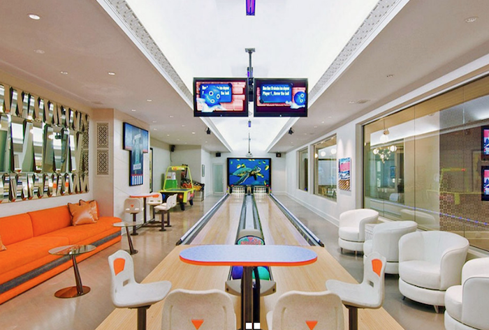 Safest Home In America Bowling Alley