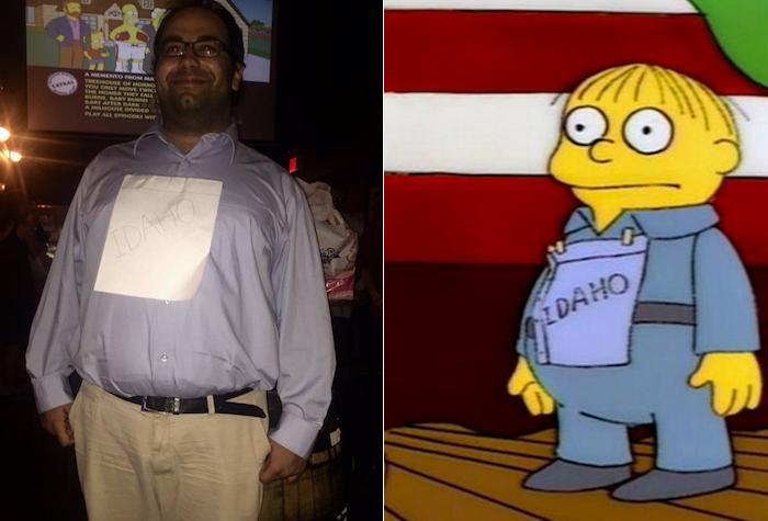 Simpsons Costume Contest 5