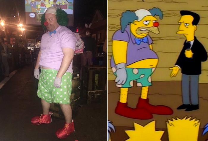 Simpsons Costume Contest Winner