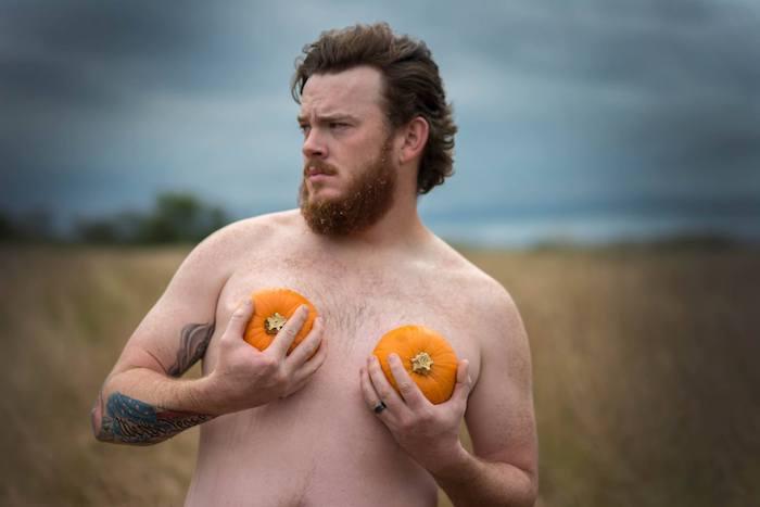 dudeior photo shoot pumpkins