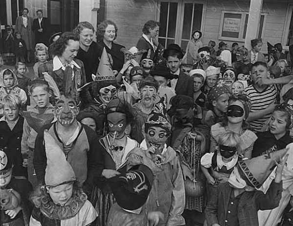 during the early days halloween festivities and customs seemed odd to americans and as time passed it came to be known as a rough holiday where people - Strange Halloween Facts