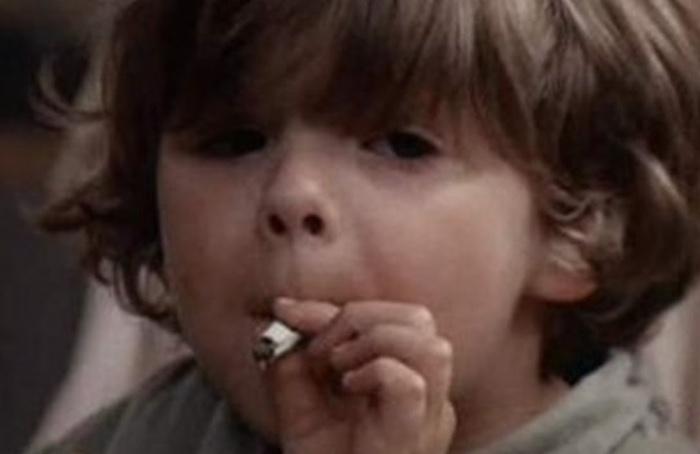 kid smoking weed