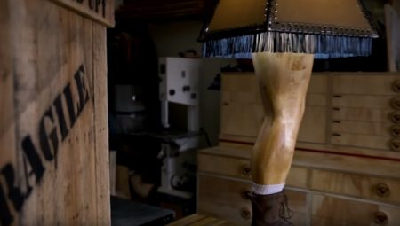 Christmas Story Manly Leg Lamp