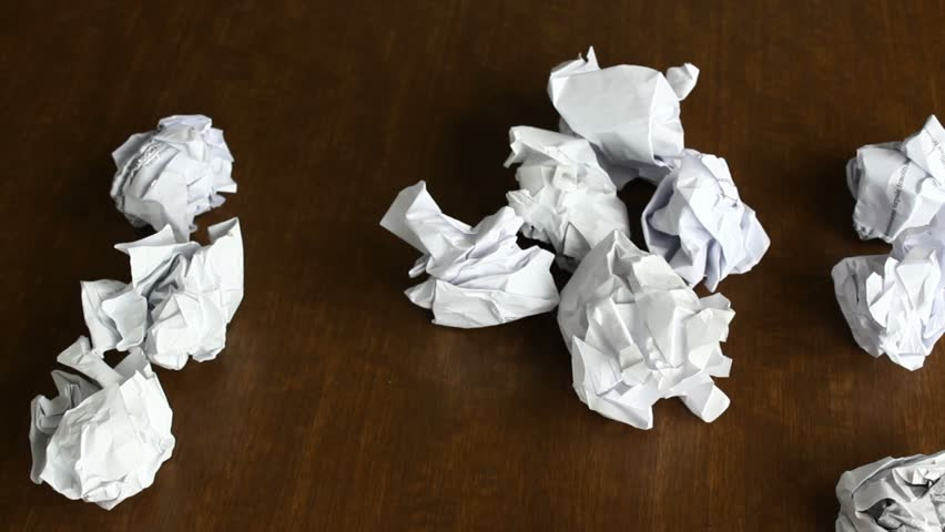 Crumbled Up Notes