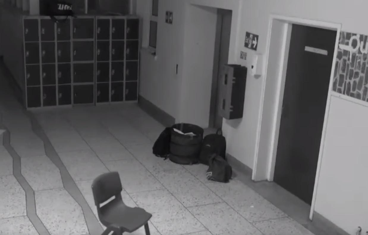 Ghost Haunts Ireland High School