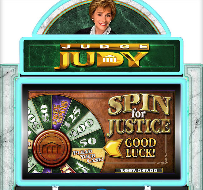 Judge Judy Slot Machine Game