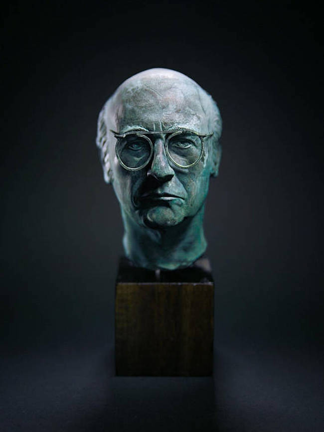 Larry David Bust