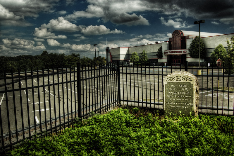 Mary Ellis Parking Lot Grave