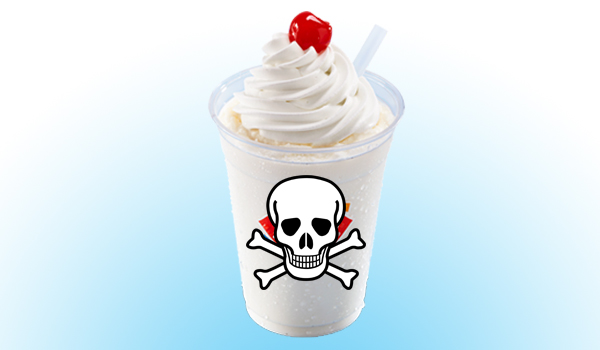 Milkshakes and chemicals