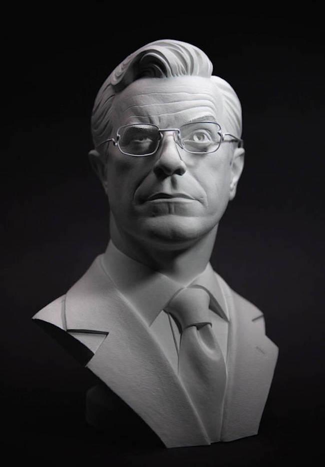 Stephen Colbert Bust