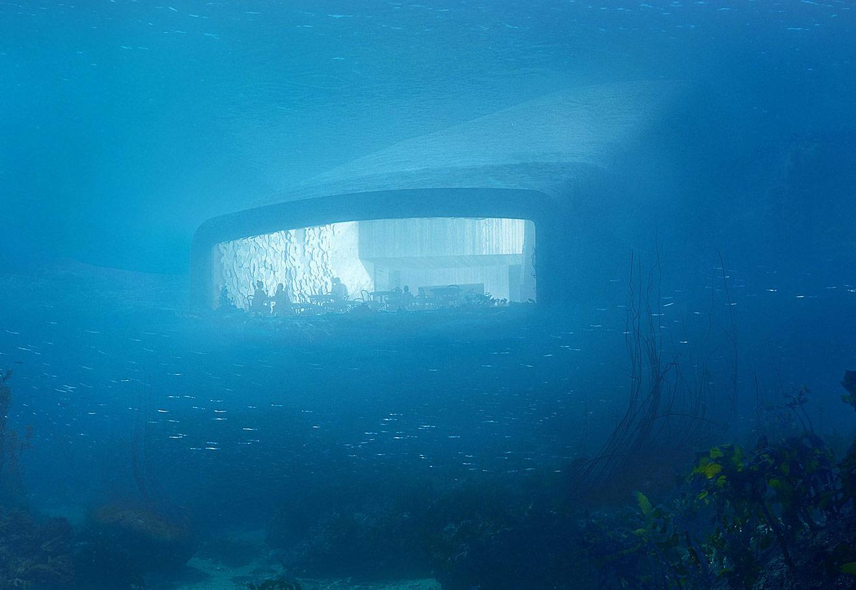 Underwater Restaurant Under Norway