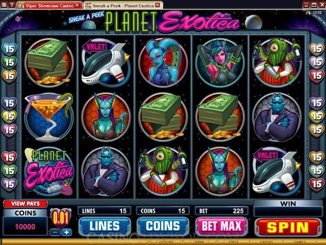 Planet Exotica Slot Game