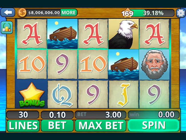 Bible Slot Machine Game