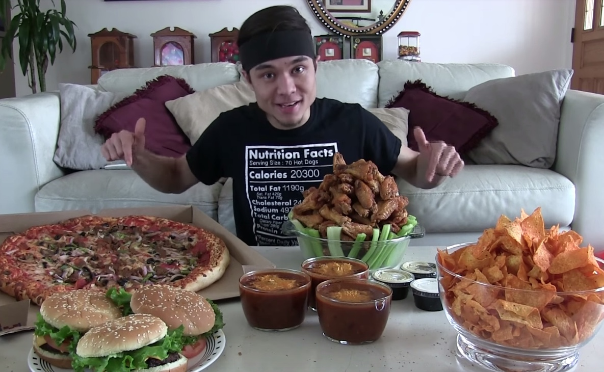 Matt Stonie Eating Challenges