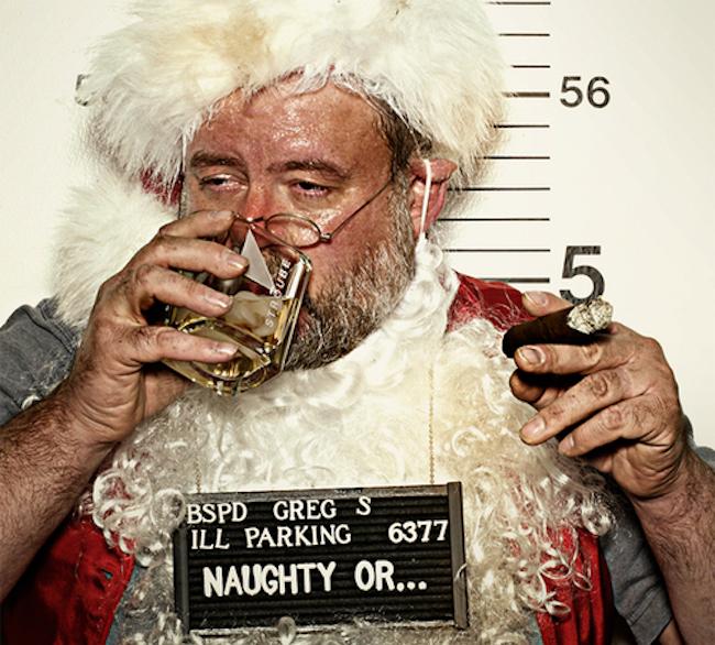 Real Life Bad Santa