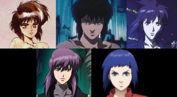 interesting story of Kusanagi's characterization in the TV