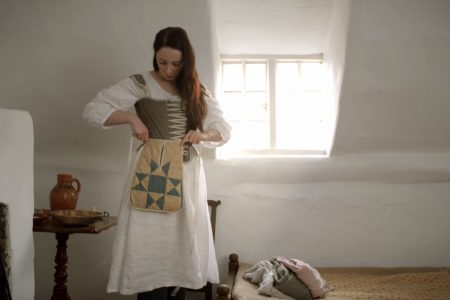 18th Century Woman Dress