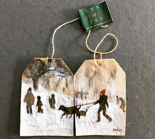 Art On Tea Bags