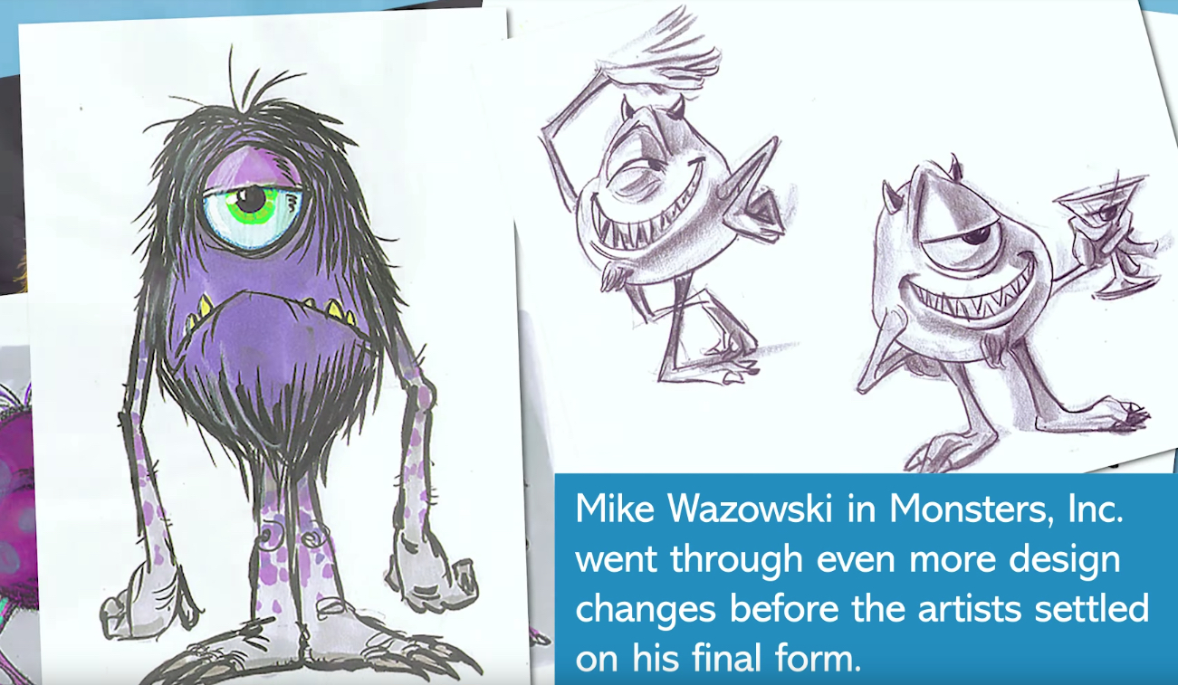 Pixar Scrapped Ideas