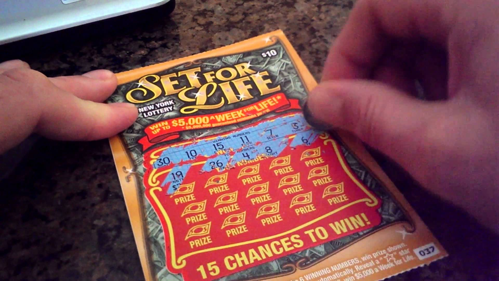 Set For Life Scratch Off Winner