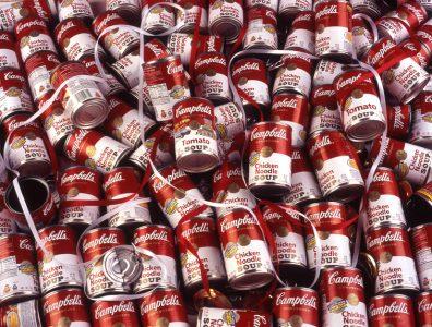 soup cans