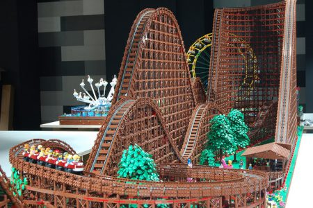 LEGO roller coaster world's largest