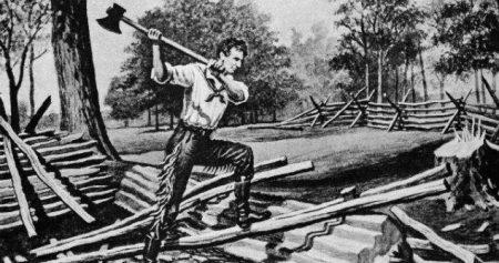 Abe Lincoln Rail Splitter