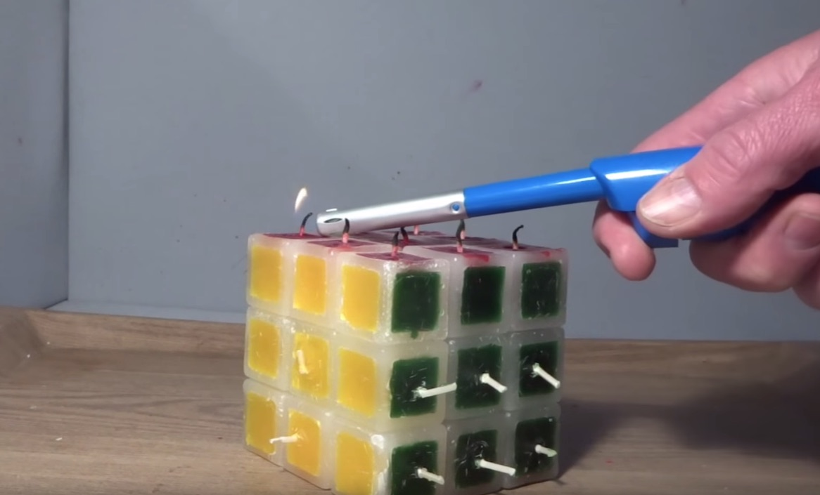 candle rubiks cube