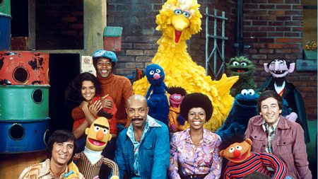 Sesame Street cast from 1969.