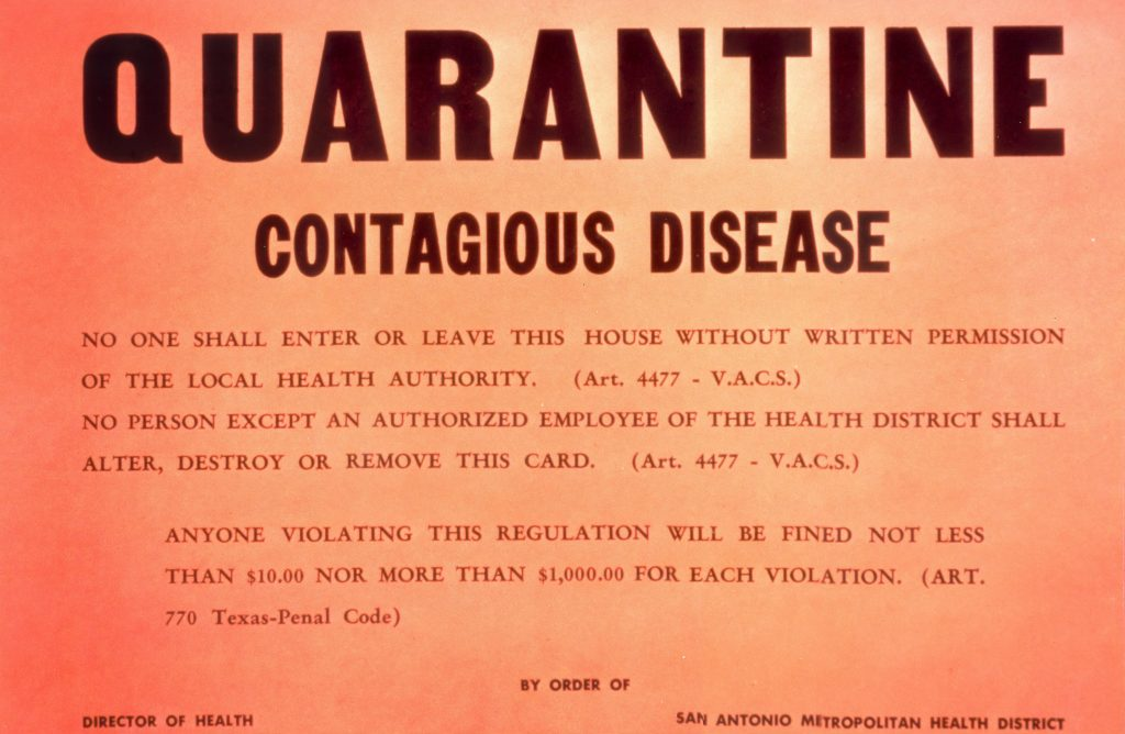 4 Strange Facts About Quarantines