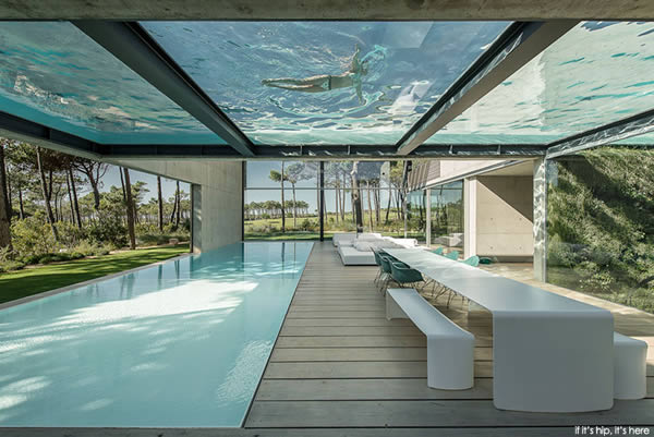 9 amazing glass bottom pools oddee