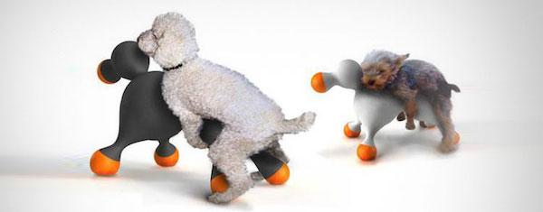 fake dog balls