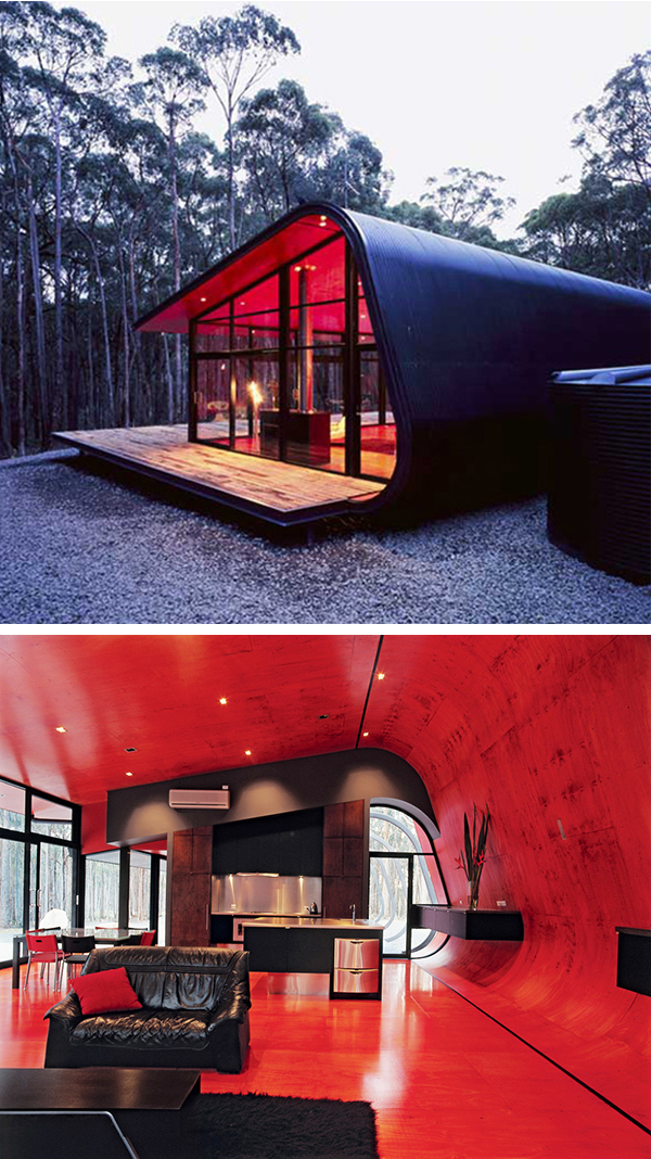 cool architecture design. Contemporary Cool This Pod Home Was Created By Judd Lysenko Architects Of Melbourne  Australia With A Linear Design Using Steel Laminated Glass And Plywood The Inside  Throughout Cool Architecture Design
