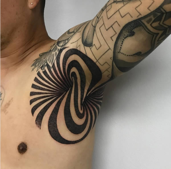 Another 12 Of The Craziest Armpit Tattoos Oddee