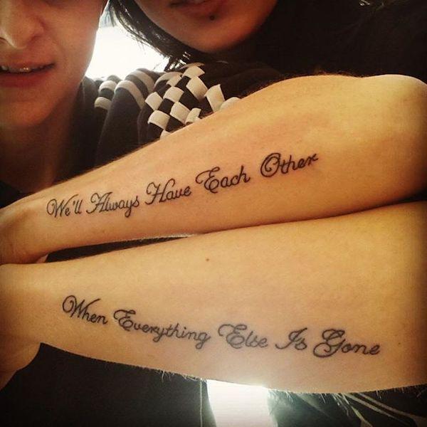10 Adorable Sibling Tattoos Oddee