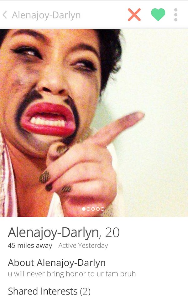 12 Tinder Profiles That Are Lessons In What Not To Do