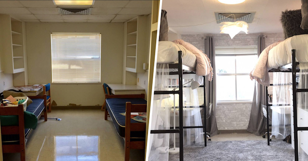 6 Awesome Dorm Room Makeovers Oddee
