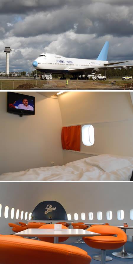 1Jumbo Hostel (Stockholm): Worldu0027s First Aircraft Inn