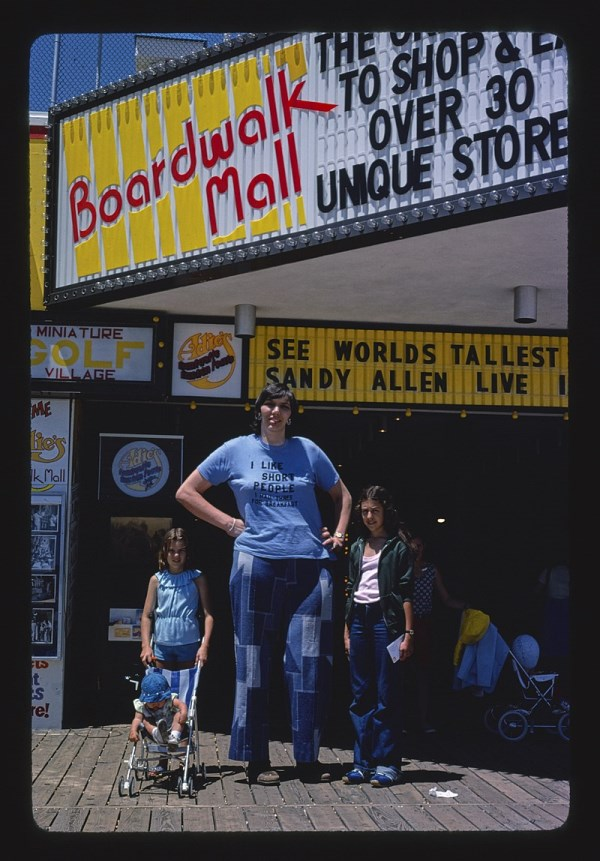 Sandy Allen Appeared In The Guinness Book Of World Records Since 1976 And Until 2008 When She Died As Tallest Woman