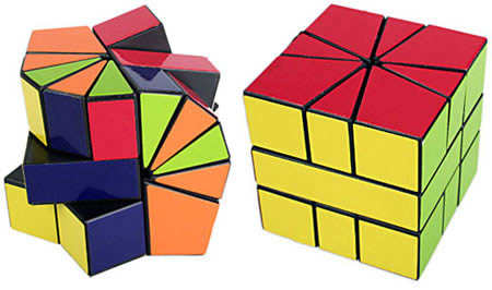 Amazing Cube 10 Creative Rubik's Cubes  Rubik Cube Pentamix  Oddee