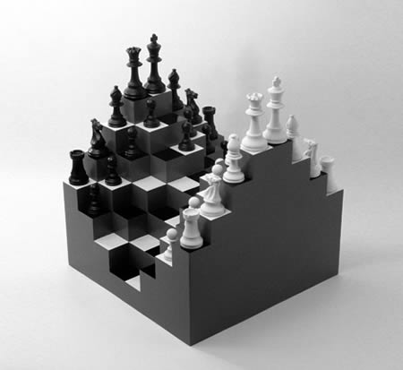 Gentil 13d Chess Set