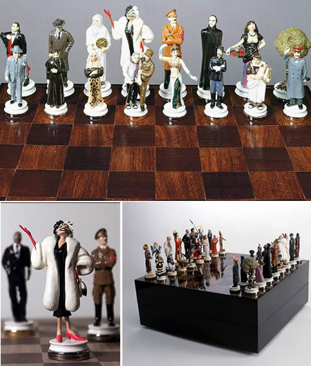 5Good And Evil Chess Set