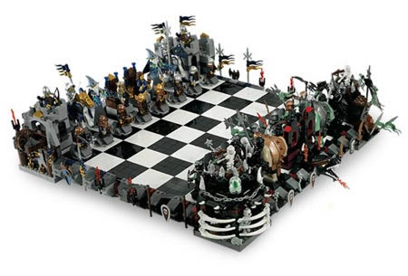 Awesome 9Lego Chess Set
